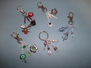 Handbag & keyring charms